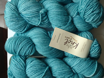 Selling: Why Knot Fibers Sweetheart in Robin's Egg (5)