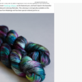 "Looking For: Malabrigo Silkpaca ""Malicabo"" #154"
