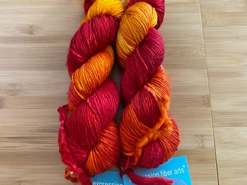 Selling: Expression Fiber Arts Worsted Yarn in Ancient Tree