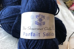 In stash (not for trade or sale): Knit One Crochet Too - 4 navy