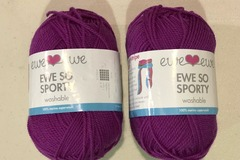 Swap/Trade: Trading 2 balls of Ewe So Sporty in Berry for Saffron
