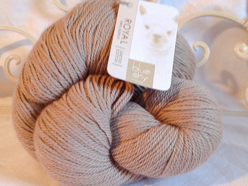 Selling: Blue Sky Fibers Royal In Cafe au Lait