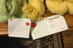 Selling: Staccato sock yarn by Shibu