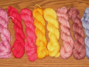 Selling: Knitologie Minis: 10 Skeins, Fingering Weight (Set #6)