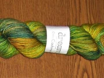 Selling: Dream in Color-Classy w/Cashmere: Flower Drum Song/1 Skein